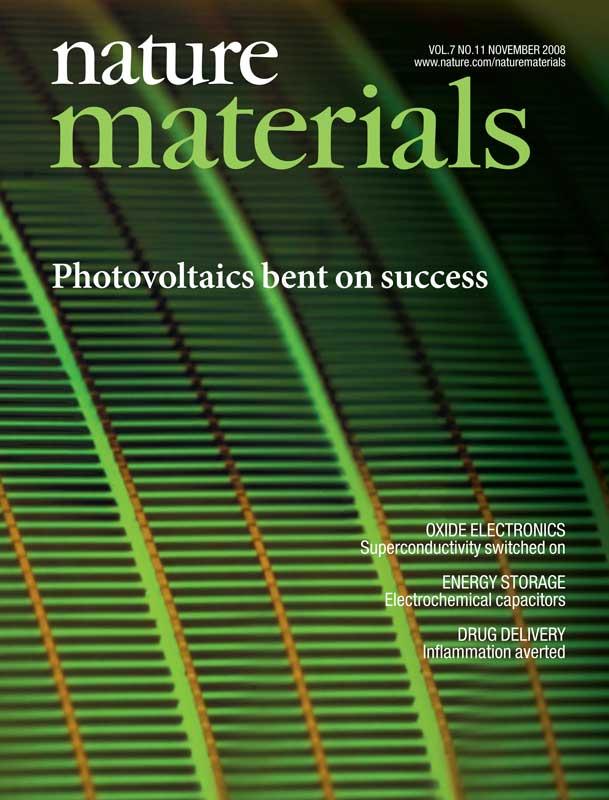 Nature Materials Magazine - November 2008